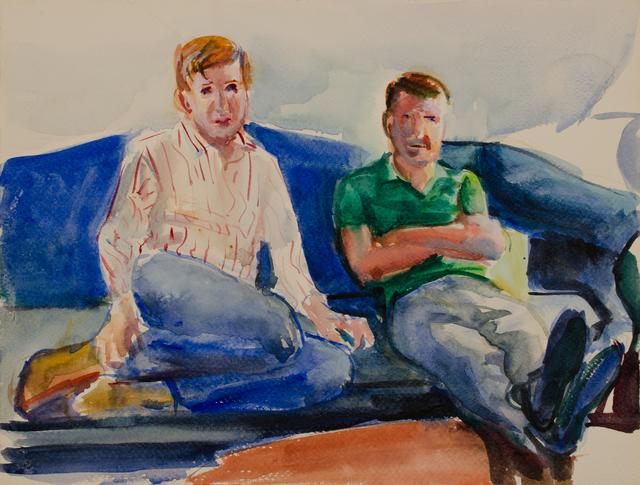, 'Two Men Patrick's Patrons,' , Galerie Thomas Fuchs