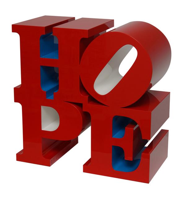 , 'HOPE (Red/Blue/White),' 2009, Rosenbaum Contemporary