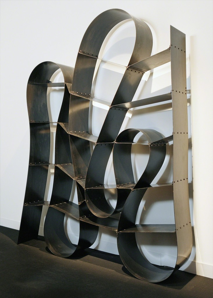 'One way or Another' Bookshelf by Ron Arad 