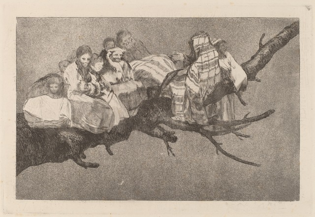 Francisco de Goya, 'Disparate ridiculo (Ridiculous Folly)', in or after 1816, Print, Etching, aquatint and drypoint [trial proof printed posthumously circa 1854-1863], National Gallery of Art, Washington, D.C.