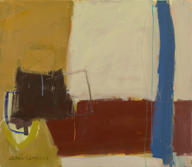, 'Blue and Brown,' , Hollis Taggart