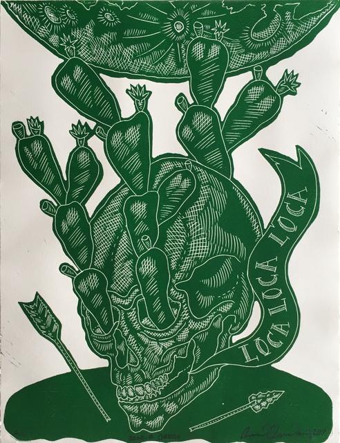 , 'Braque Green (Loca, Loca, Loca),' 2017, Ruiz-Healy Art
