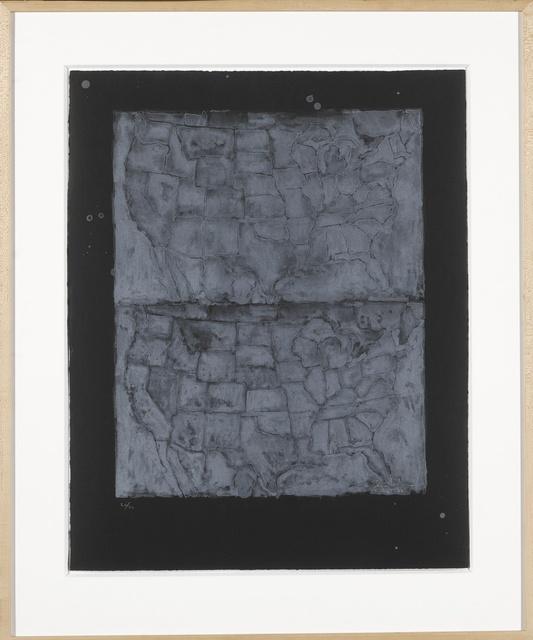 Jasper Johns, 'Two Maps I (ULAE 23)', 1966, Sotheby's