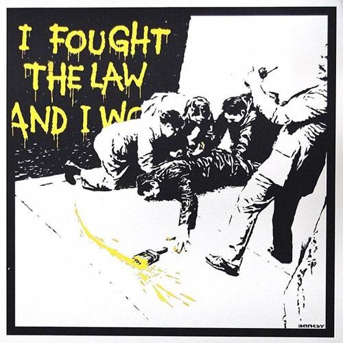 Banksy, 'I Fought The Law AP', 2004, Kings Wood Art
