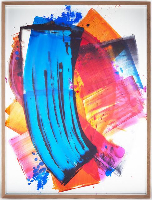 , 'I love you (Blue Domino),' 2014, Galerie Peter Kilchmann