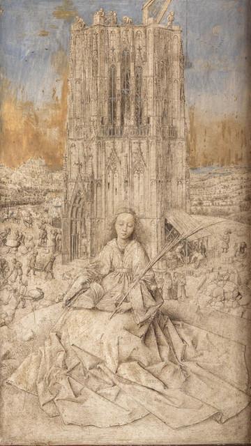 , 'Saint Barbara,' 1437, The Metropolitan Museum of Art