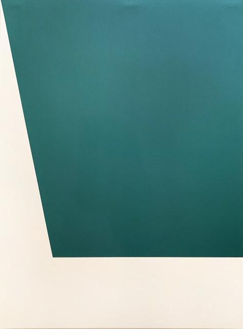 Ellsworth Kelly, 'Mallarmé Suite: Green', 1992, Print, Lithograph printed on Rives BFK wove paper, Hamilton-Selway Fine Art