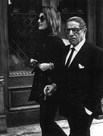 , 'Jacqueline Kennedy and Aristotle Onassis at P.J. Clarke's Restaurant, New York,' 1971, Staley-Wise Gallery