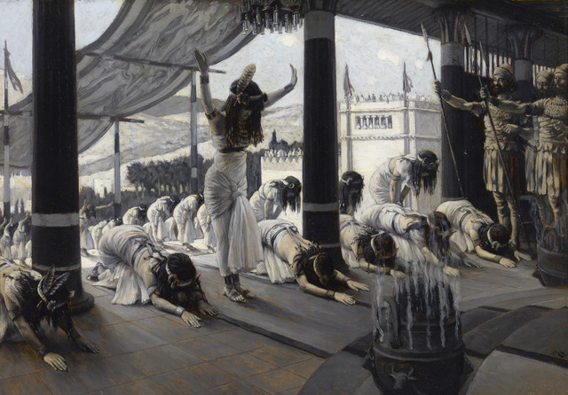 James Jacques Joseph Tissot, 'The Visit of the Queen of Sheba', 1816-1902, Painting, Oil on panel,  M.S. Rau