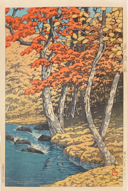 , 'Autumn at Okuirise,' 1933, Ronin Gallery