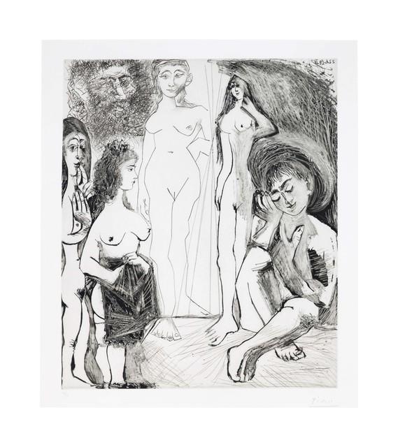 Pablo Picasso, 'Jeune garçon rêvant: les femmes!, from La Série 347', 1968, Christie's
