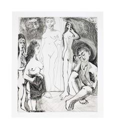 Jeune garçon rêvant: les femmes!, from La Série 347