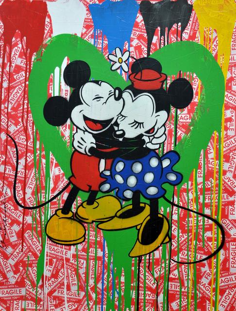 , 'Mickey & Minnie in Love,' 2014, Aurifer AG