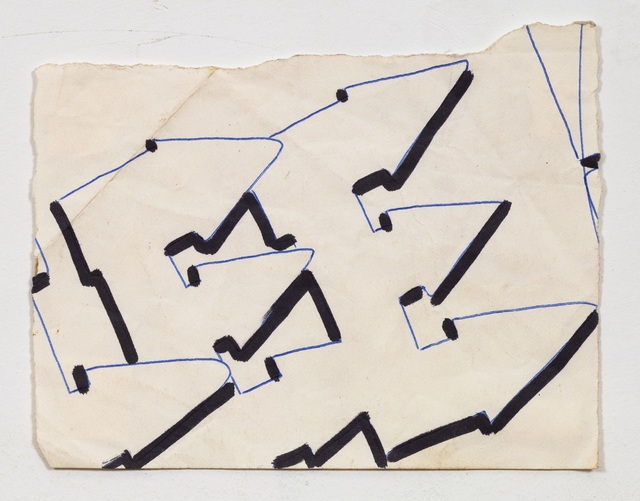 , 'Lee Font Study #2,' 1980, James Fuentes