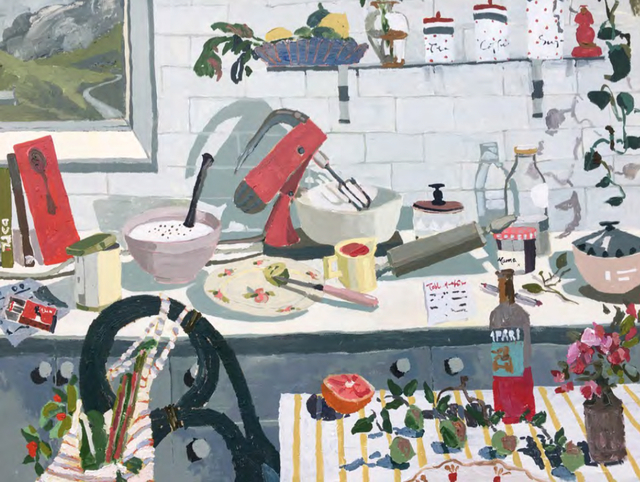 , 'Delightful clutter of a Cook's kitchen ,' 2017, Piermarq