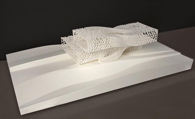 IwamotoScott Architecture with proces2, 'Jellyfish House, Treasure Island, San Francisco model', 2005-2006, San Francisco Museum of Modern Art (SFMOMA)