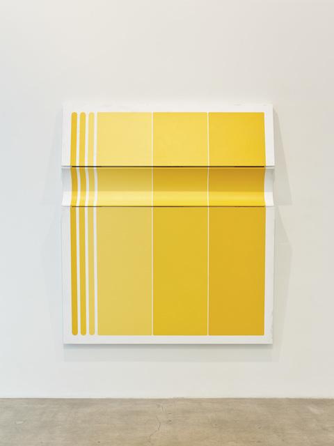 , 'Untitled Tri-Toned Yellow II,' 2019, Diane Rosenstein