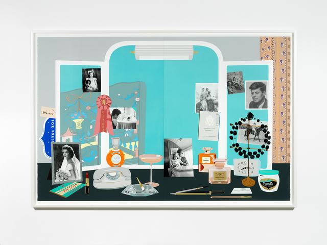 , 'Jacqueline Kennedy's White House Dressing Table (Deux),' 2019, Casey Kaplan