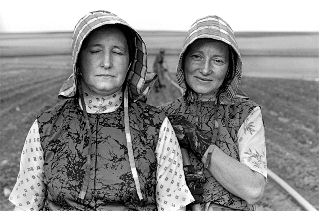 , 'Hutterite Women Gardeners, Riverview Colony, Chester, Montana, June 22, 1994 ,' , Gail Severn Gallery