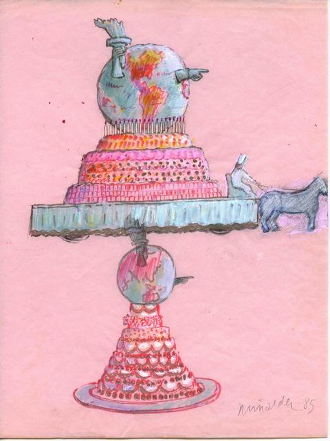 Antoni Miralda, 'Wedding Cake Float', 1985, Henrique Faria Fine Art