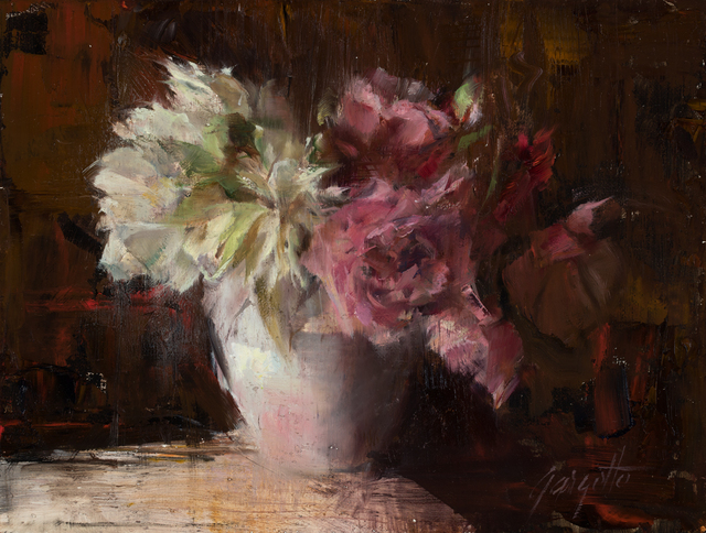 Ann Gargotto, 'Pink and White Peonies', 2015, Abend Gallery