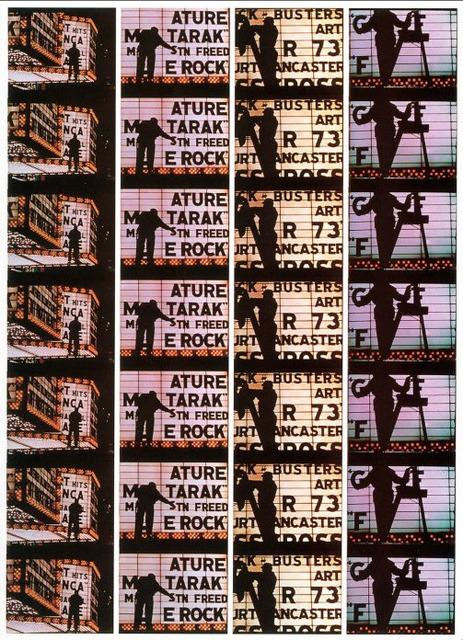 , 'Film Strips from Broadway by Light 4,' 1958, Atlas Gallery