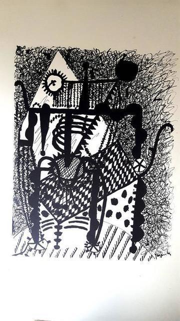 """Pablo Picasso, 'Etching """"Hélène chez Archimède IV"""" after Pablo Picasso', 1955, Galerie Philia"""
