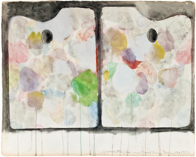, '2 Palettes,' 1963, Somerville Manning Gallery