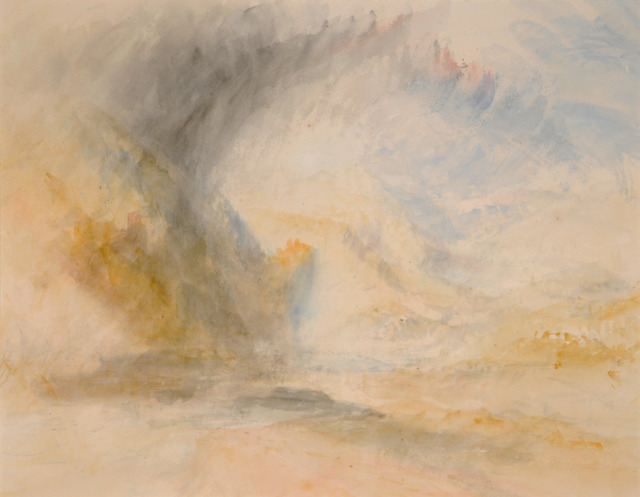 , 'Foot of St. Gothard,' ca. 1842, Turner Contemporary