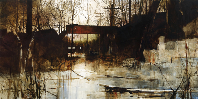 , 'Moore & Thompson in Twilight,' , West Branch Gallery