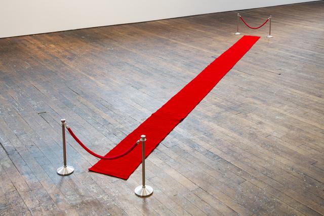, '!DO NOT ENTER! / Red Carpet,' 2018, Peter Freeman, Inc.
