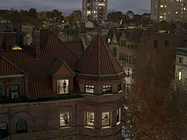 , 'Chiclet Mansion, Park Slope, Brooklyn. ,' 2016, George Eastman Museum