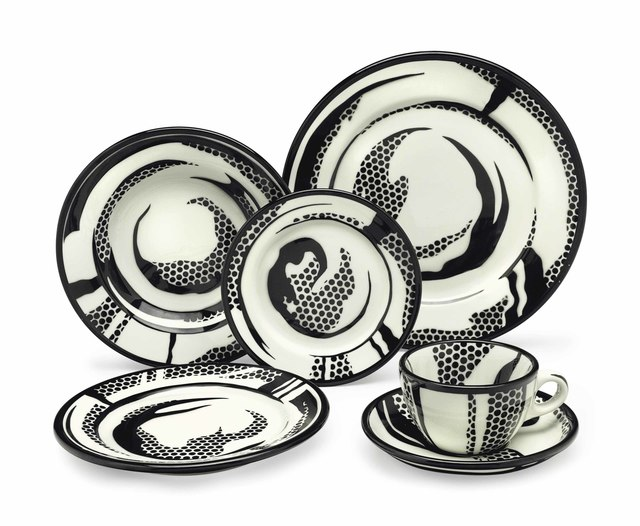Roy Lichtenstein, 'Dinnerware: ten place settings', 1966, Christie's