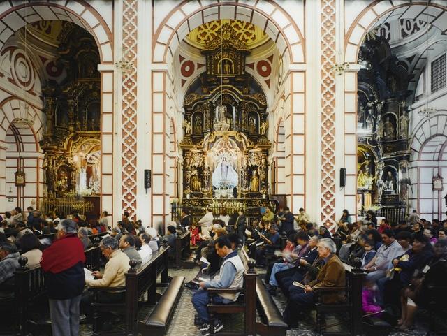 Thomas Struth, 'Iglesia de San Francisco, Lima, Peru', 2003, Sotheby's