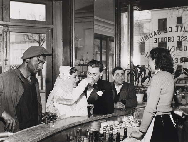 Robert Doisneau | Cafe Noir et Blanc (1948-printed later) | Artsy