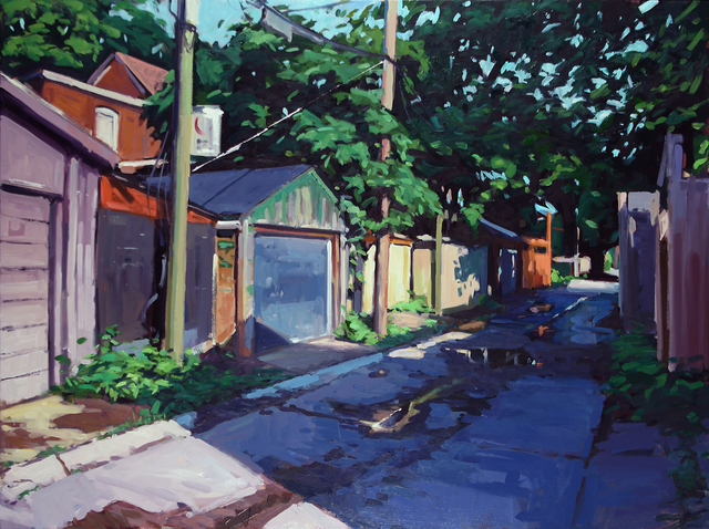, 'Afternoon Light Behind Empire Avenue,' 2018, Abbozzo Gallery