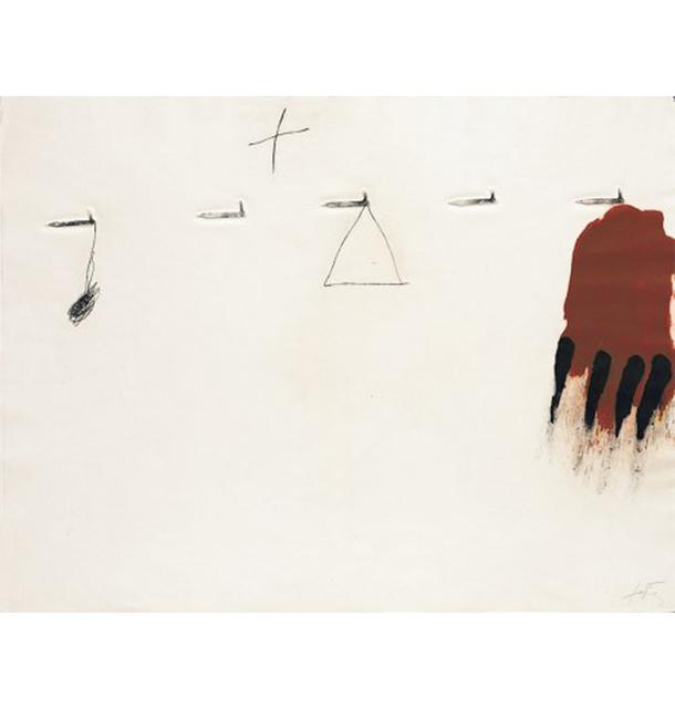 Antoni Tàpies, 'Claus I Ditades', 1971, Nikola Rukaj Gallery