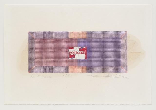 , 'Postcode,' 1980, Richard Saltoun