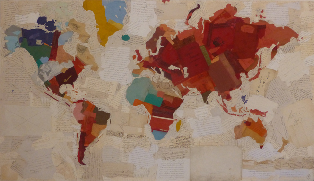 , 'Memory Map,' , Villa del Arte Galleries