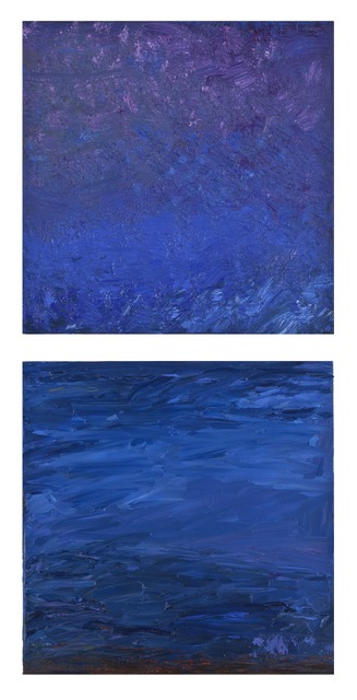 , 'Elements: Deep Water-Diptych,' 2014-2015, Seager Gray Gallery