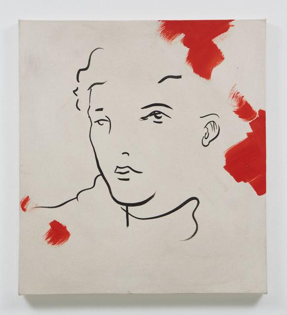 , 'Red Raw,' 2016, Evelyn Yard