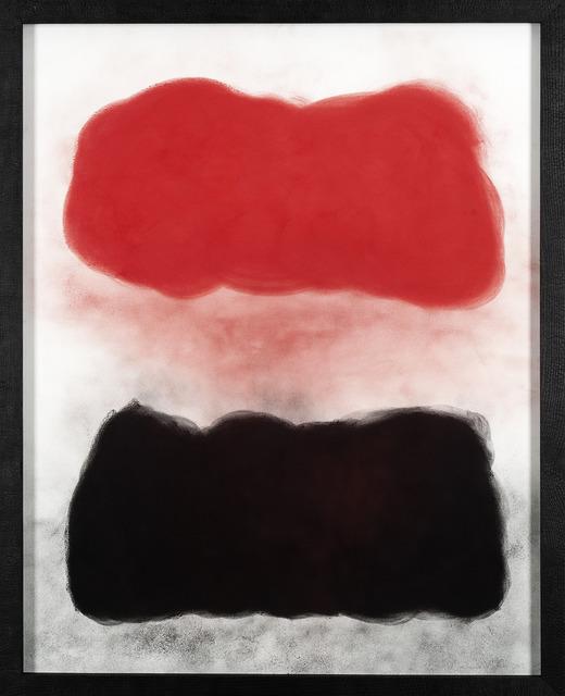 , 'Red over Black IV,' 2012, Galerie Lelong & Co.