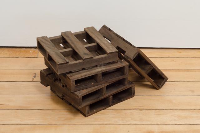Wylwyn Dominic Reyes, 'Pallet Stack', 2013, Sculpture, Wood, Fleisher/Ollman