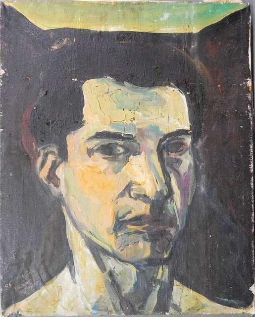 Elie Shamir, 'portrait of a man', 1980-1989, Lions Gallery