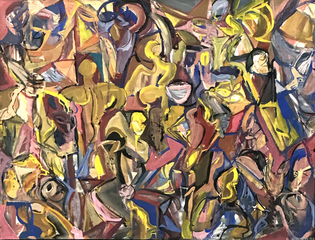 , 'Untitled (Multiple Figures Overall Best),' 1984, The Good Luck Gallery