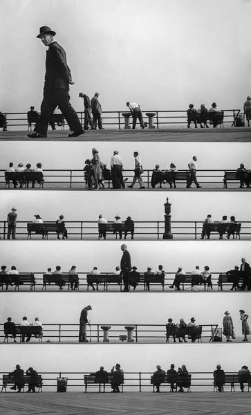 , 'Boardwalk Sheet Music Montage,' 1952, Galerie Thierry Bigaignon