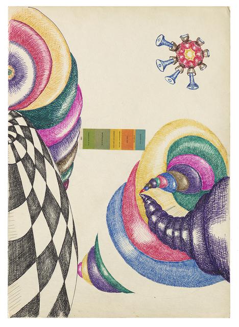 Michel Opatowski, 1971, Herzliya Museum of Contemporary Art