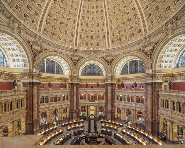 , 'Library of Congress, Washington DC,' 2017, Undercurrent Projects