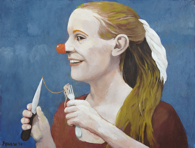 , '[Girl with Clown Nose],' 2014, Childs Gallery