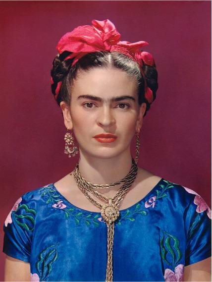 , 'Frida Kahlo In Blue Blouse,' 1939, Matthew Liu Fine Arts
